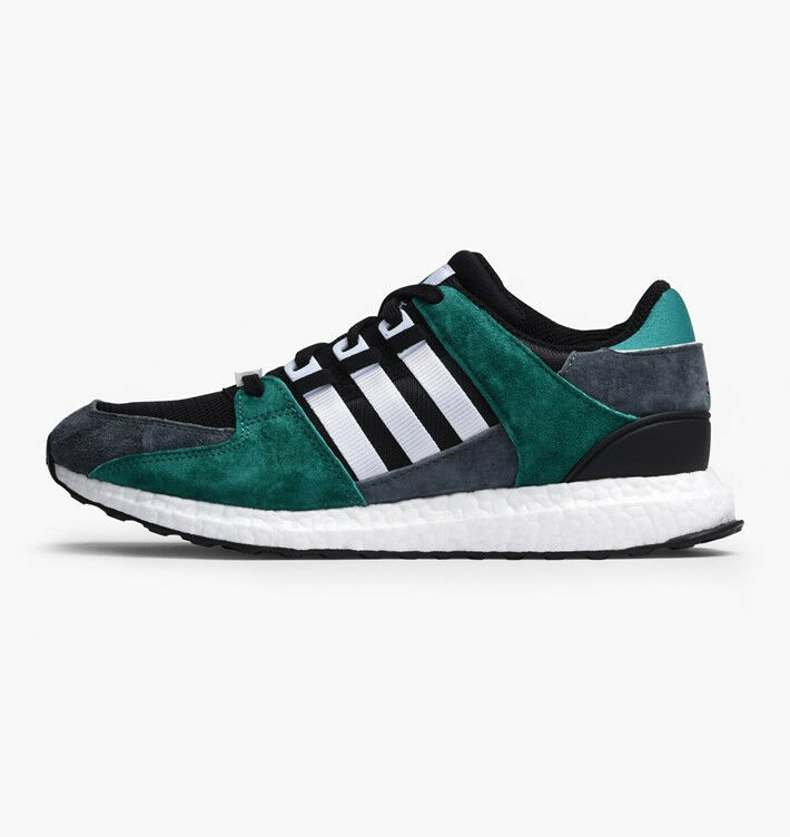 Adidas EQT Support 93 16 Boost Green Black White - Men's Size 8.5 (S79923)