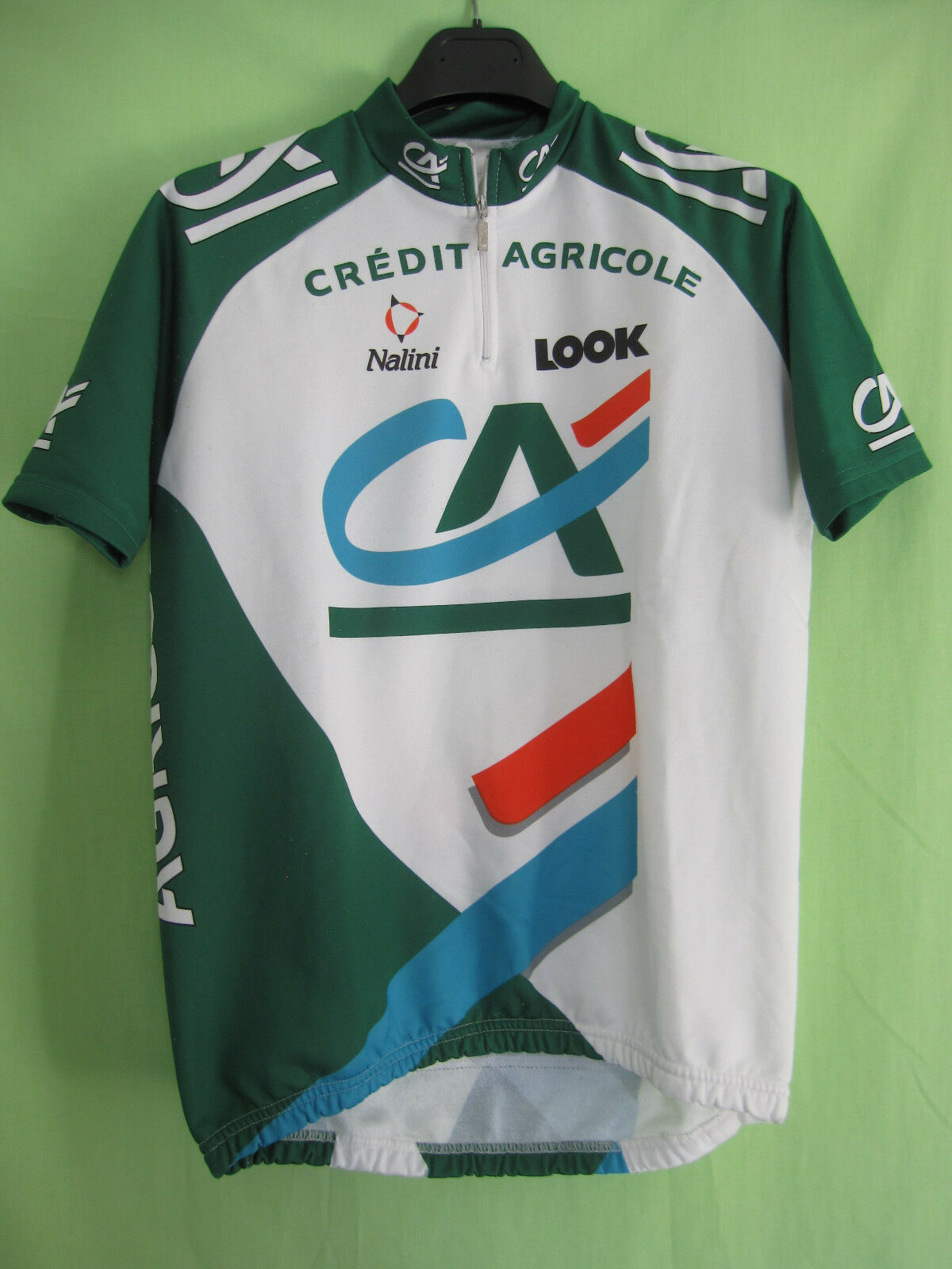 Maillot cycliste Credit Agricole LOOK Tour 1999 Nalini Jersey cycling - 4   L