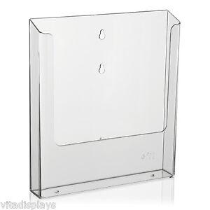 DIN-A4-Prospekthalter-Wandprospekthalter-von-VITAdisplays-fuer-die-Wandmontage