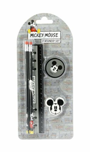 Disney Mickey Mouse 5 pieces Stationery Set