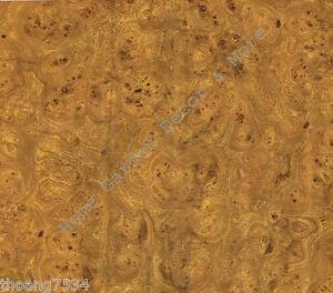 Golden Brown Burl Wood Grain Vinyl Contact Paper Shelf