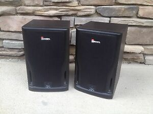Image Is Loading RF S3000 900 MHz Stereo Wireless Speakers Pair
