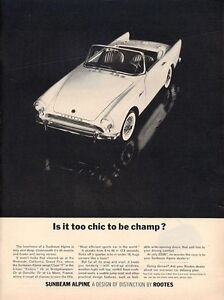 1963-Sunbeam-PRINT-AD-Alpine-Convertible-Sports-Car-2-Door