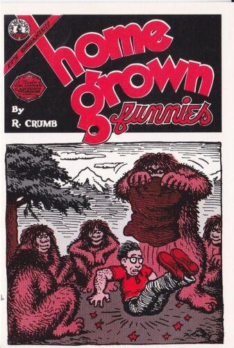 CRUMB HOME GROWN FUNNIES YETTI WHITEMAN TRADING CARD KITCHEN SINK PRESS 1989 R
