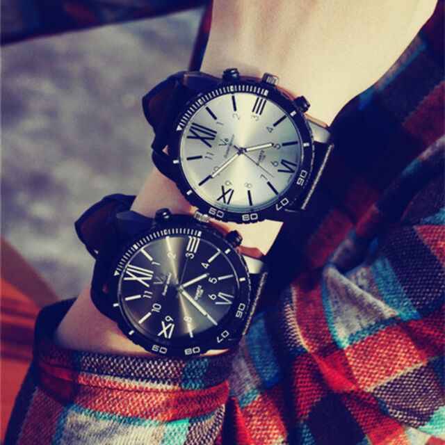Fashion Unisex Watch Sports Analog Digital Quartz Big Dial Women Men Wrist Watch