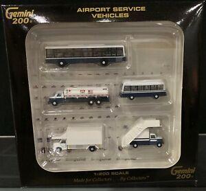 1:200 GEMINI200 Airport Service Vehicles G2APS450 5Pcs in 1Box