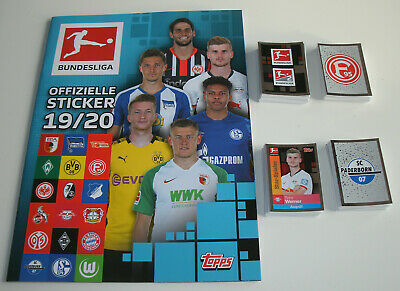 Panini Bayern Munich Sticker /& Cards 2019//2020 album de scrapbooking 1 x Display 19//20