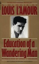 Education of a Wandering Man by Louis L'Amour (1990, Paperback)