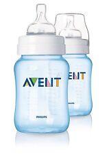 Philips Avent SCF685/27 Classic 2-Pack 260ml/9oz Feeding Bottle - Blue