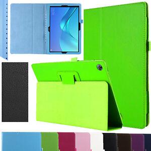 Pour-Huawei-Mediapad-M5-10-10-8-Cuir-Etui-Smart-Case-Magnetique-Support-Pliable