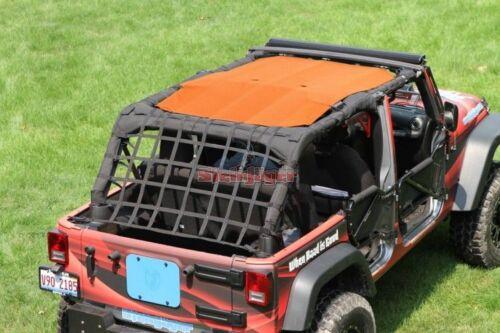 Sun Shade Screen Teddy Top for Jeep Wrangler JK 10-18 4Door Steinjager 12 Colors