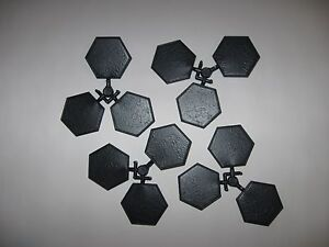 Details about 50mm Hexagon bases for wargaming