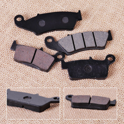 2x Front Rear Brake Pads Fit for Suzuki RM125 RM250 Honda XR250R Yamaha YZ125