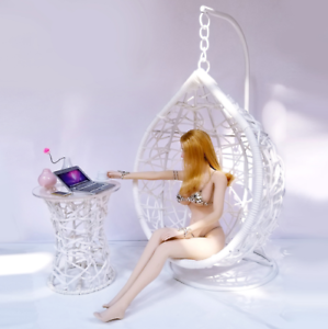 only for chair FR fashion royalty 1:6 Scale Dolls furniture Swing rocking chair
