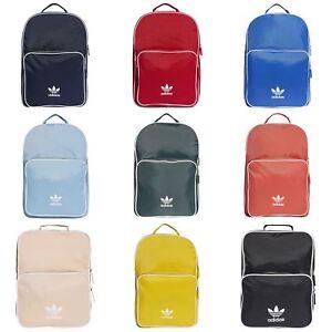 Golpeteo salida reembolso  adidas ORIGINALS ADICOLOR BACKPACK BAG UNIVERSITY COLLEGE RETRO TREFOIL  SCHOOL   eBay
