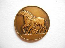 Médaille en Bronze - Équitation - Cheval - H. Bouchard