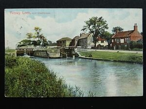 Lincolnshire-CLEETHORPES-TETNEY-LOCK-Old-Postcard-by-Pictorial-Stationery-Co