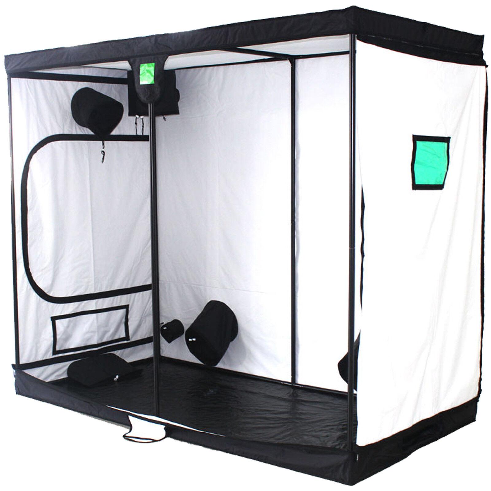 Budbox pro 1.2m X 2.4m X 2.0m Hydroponisch Reflektierend Weiß Gewächszimmer Zelt