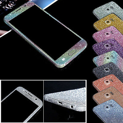Adesivo Sticker Glitter Diamanti Full Cover Luxury per/for Samsung Galaxy S5