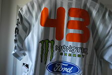 DC Ken Block 43 Monster Pirelli Tee White NWT NEW Medium