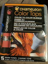 Chameleon Color Tops Marker Set 5//Pkg-Primary Tones CT45-02