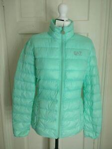 Emporio Ea7 8 Down Size Warm Uk Women Jacket Armani Bubble Bnwt Puffer Pastel S ppwrRBq