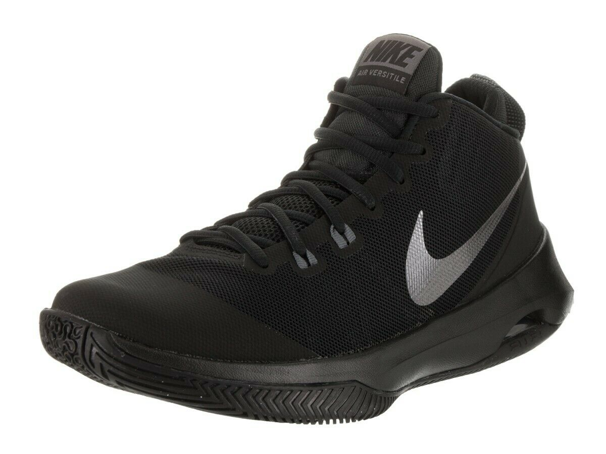 NIB Mens Nike Air Versatile NBK Black Metallic Dark Grey Dark Grey 852433 001