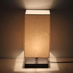 Surpars House Modern Minimalist Solid Wood Table Lamps Light Bedside
