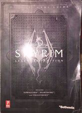 THE ELDER SCROLLS IV SKYRIM PRIMA OFFICIAL LEGENDARY STRATEGY GAME GUIDE