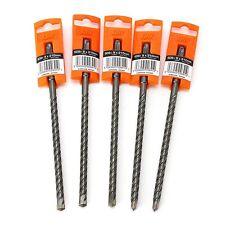 5 SPIT RAMSET R3 SDS PLUS DRILL BITS 9MM x 210MM FOR BRICK, MASONRY & CONCRETE