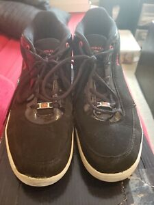 Men's U.S. POLO ASSN. Lace Up Black High Top Sneakers Size 9.5