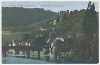 AK Bad Kreuznach Nahebrücke und Kauzenberg (J268)