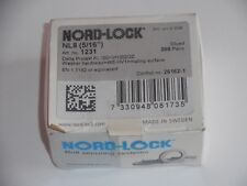 200 Pack M8 Wedge Locking Washer Carbon Steel 5//16 Zinc Flake Coated