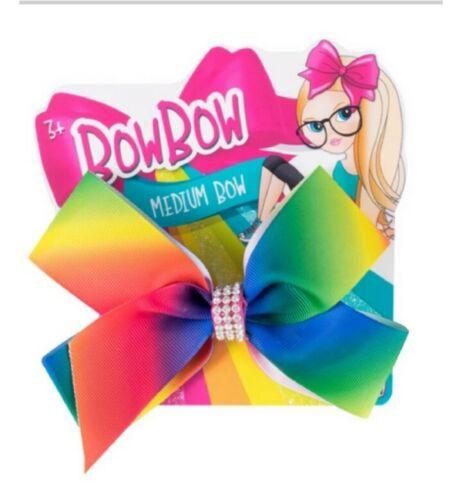 Girls Rainbow multi Coloured Hair bow