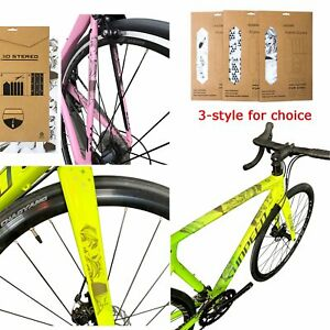 Bike Frame Protector Illustrated Adhesive Sticker Large Bicycle Decal MTB #b051