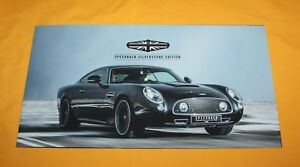 David-Brown-Speedback-Silverstone-2018-Prospekt-Brochure-Depliant-Catalog-Folder