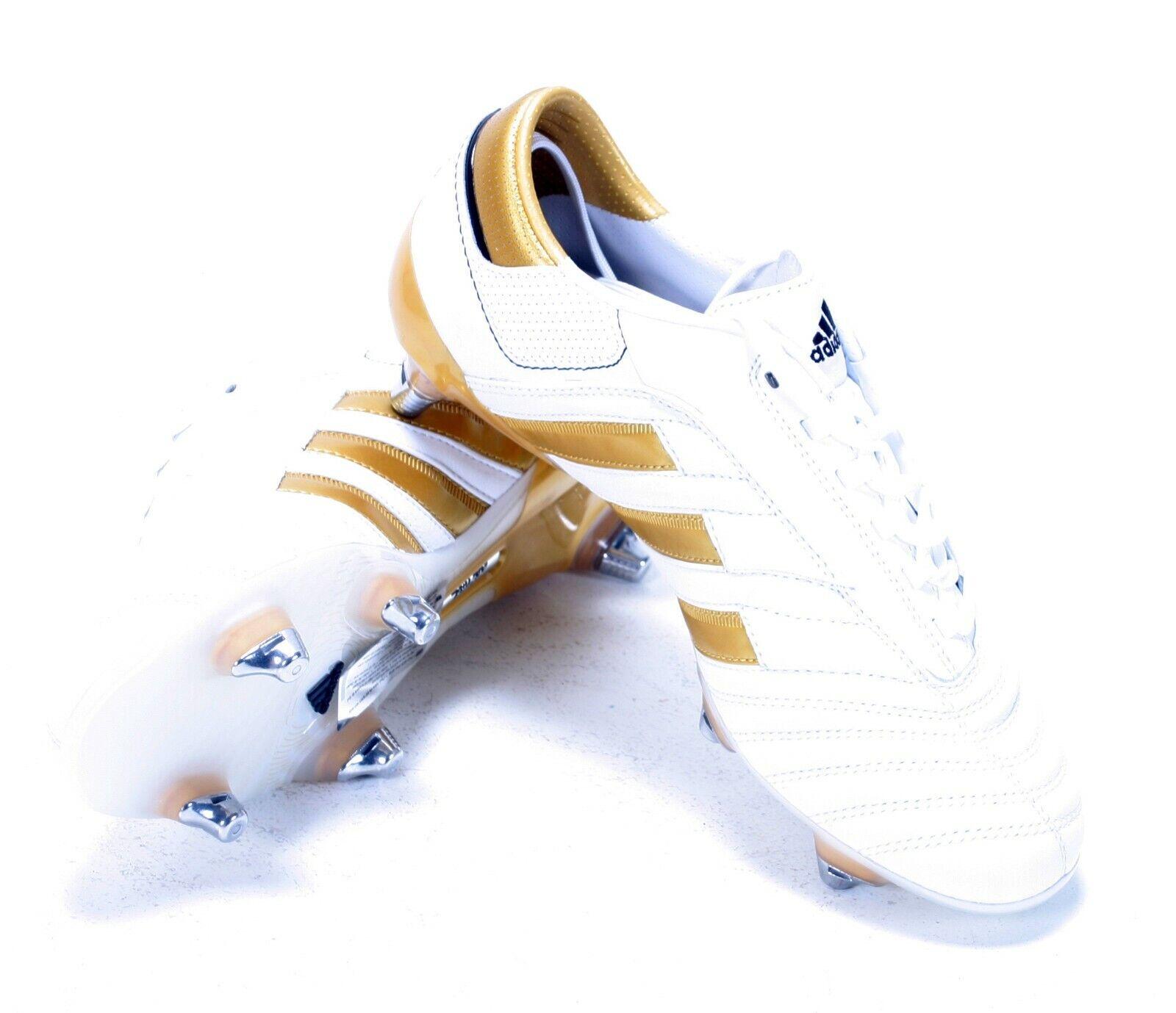 Adidas Adipure III XTRX botas De Fútbol Hombres blancoo goild bninb G120796 EU39