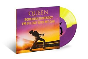 Queen-Bohemian-Rhapsody-I-039-m-in-Love-With-My-Car-New-Coloured-Vinyl-7-034-RSD