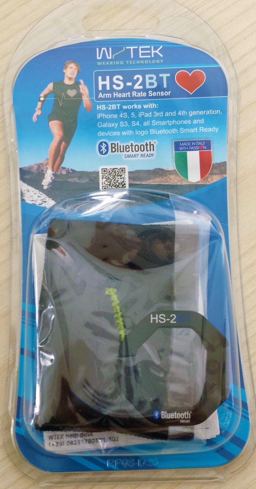 WTEK HS-2BT CARDIOFREQUENZIMETRO DA BRACCIO BlauTOOTH iPhone 4s 5 5c 5s 6 6plus
