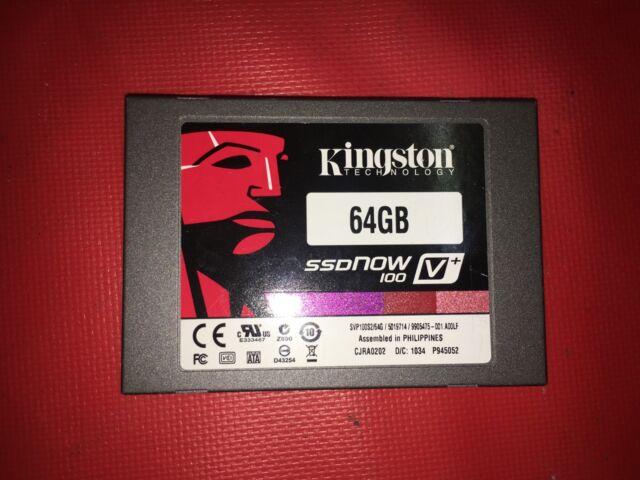 Kingston SV100S2 SSD Windows 8 X64