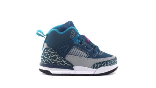 317701-407 Nike Air Jordan Spizike Toddler Blue//Pink-Grey-Black Sizes 6-10 NIB