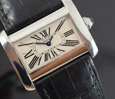 CARTIER TANK DIVAN MODEL 2599  GENERIC BOX/PAPERS/WARRANTY LOTS OF CARTIER