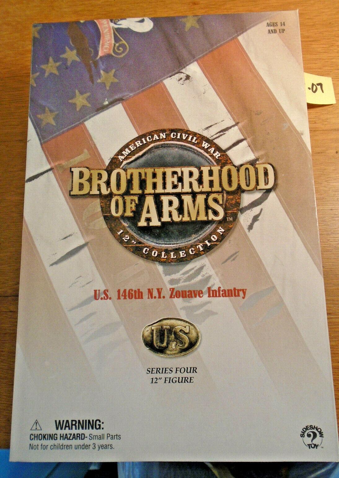 2003 Hermandad de armas de EE. UU. 146TH N. Y. zonave Figura De Infantería - (209-07)