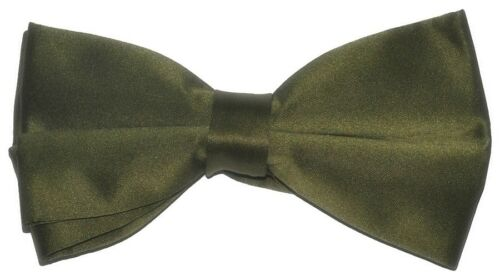 Prom Wedding Formal Solid Colors Satin Bow-Ties