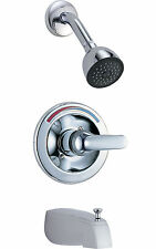 Delta T13491 Monitor 13 Series Commercial Tub and Shower Trim, Chrome Finish