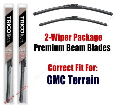 19240//180 GMC Terrain Wipers 2-Pack Premium Beam Wiper Blades fits 2018