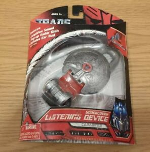 TRANSFORMERS-UNDERCOVER-LISTENING-DEVICE-CARABINER-AUTOBOT-HEARING-AID-RARE-2007