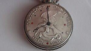 FäHig Taschenuhr Silber MÜnzuhr - 3 Mark 1913 - Extrem Seltene Uhr ! Rar !