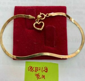 Gold-Authentic-18k-gold-bracelet