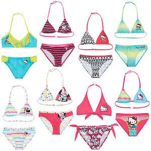 UFFICIALE-Nuovo-Ragazze-Bikini-Costume-Da-Bagno-Costume-Da-Bagno-Eta-4-14-anni